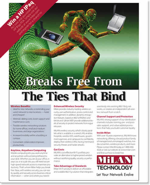 MiLAN Technology Ad Campaign - 2nd ad