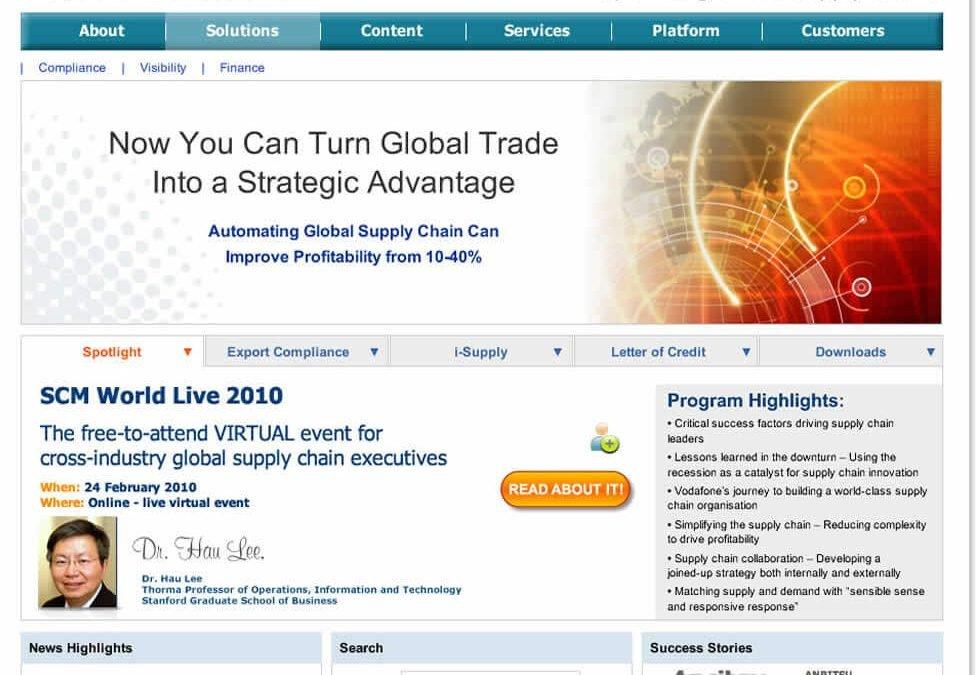 Tradebeam Website