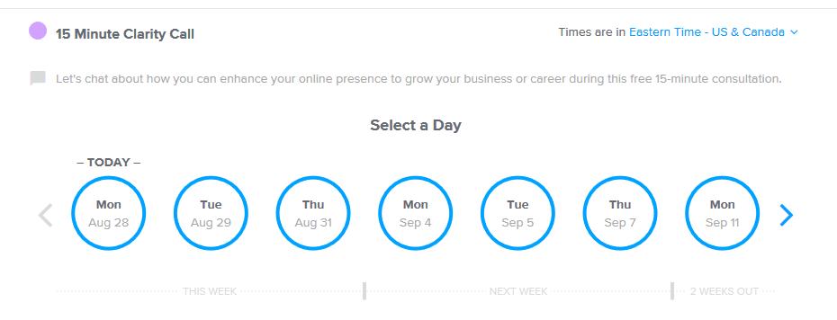 Social Tools Calendar