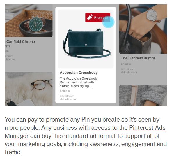 Social Media Ads Pinterest